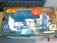 SunnGas Gourmet 3 Burner Deluxe Camping Stove- BRAND NEW in Box!