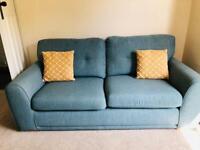 2 x 3 seater sofas (DFS)