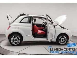 2012 Fiat 500C Lounge, CUIR CABRIOLET