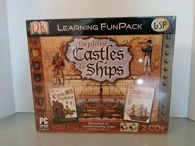 (4150) Explore Castles & Shapes DK Learning FunPack GSP