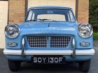 Triumph Herald 1200 in Wedgewood Blue, 1967, 42,450 miles
