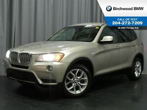 2014 BMW X3 xDrive28i Local Car!