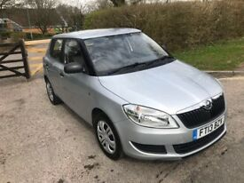 13 PLATE SKODA FABIA 1.2 SILVER 24,000 MILES ONLY EXCELLENT CONDITION