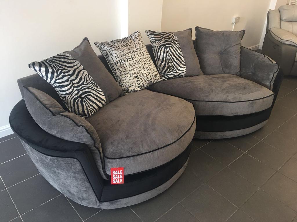 Brand New Lexi Snuggle Contemporary Design Sofa In