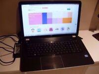 HP 17'' Laptop / INTEL i5 / 1TB HD / 4GB RAM / WIN 8.1. / DVD / Gaming. Faulty