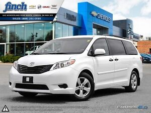 2014 Toyota Sienna L|CLOTH|DUAL ZONE CLIMATE CONTROL|TOW PKGE