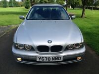 1 OWNER !!BMW 525D SE BLACK LEATHER FDSH PARKING AID