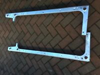 Land Rover Defender Galvanised Tub Cappings