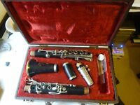 Boosey & Hawkes Edgware clarinet for sale. Excellent condtion.