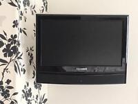 """15.9"""" COLOUR TV/DVD COMBI and wall bracket"""