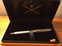 Cross Townsend 20th Anniversary Special Edition Platinum Plate Ballpoint Pen, BRAND NEW IN BOX