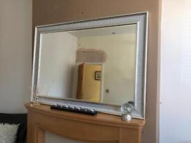Gorgeous Silver Large Mirror