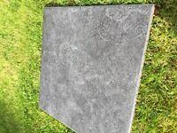 44 packs of brand new grey ceramic tiles. Worth over £500!