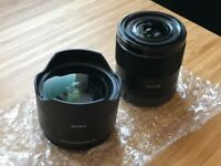 Sony FE 28 mm f2 (E-mount) AND Sony Ultra Wide Angle Converter For Sale