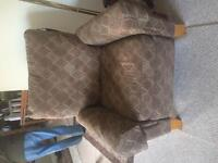 Moving Sale-recliners, love seats and a dresser for sale