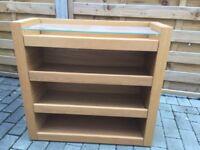 Ikea malm oak bedside shelves