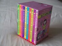 Ally's World - set of 10 x books in case - by Daren McCombie