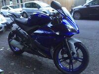 Yamaha YZF R125 in Blue