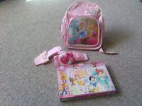 Disney Princess and Hello Kitty 4 item bundle