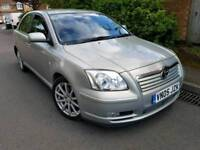 2005 Toyota Avensis T Spirit Semi-Auto 147bhp 2.0 patrol fully leather seats full service history