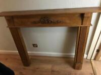 Fire surround fire place
