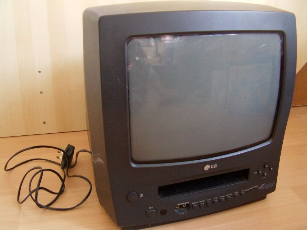 tv television lg 14 39 39 with vhs player for spare parts repair in bootle merseyside gumtree. Black Bedroom Furniture Sets. Home Design Ideas
