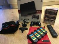 Sony PS3 (PlayStation) Slim 160GB with Controller, 15 Games & Accessorises