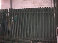 Palisade Fencing colour green for sale at a good price