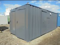 Portable Cabin Portable Office Welfare Unit Site Office Shipping Container Toilet Block
