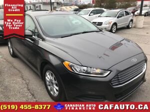 2016 Ford Fusion S   CAM   BLUETOOTH