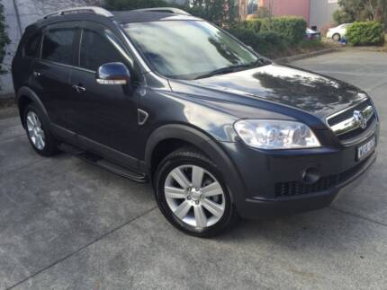 2009 Holden Captiva LX MY09 Diesel 4x4 Wagon 92,000km Nunawading Whitehorse Area Preview