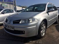 2009 09 RENAULT MEGANE ESTATE 1.5 DCI CHEAP DIESEL VERY ECONOMICAL 60 MPG TIDY ESTATE FAMILY CAR MOT