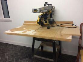 Dewalt 720 radial arm saw