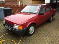 Barn find Ford Orion - Stunning and very rare