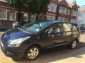 Peugeot 5008 1.6 2010 Petrol Family 7 seater economical car with smooth satisfying drive.
