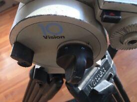 Vinten Vision 10 LF Tripod Professional Fluid Head - like Miller, Manfrotto, Red, Sony, Arri