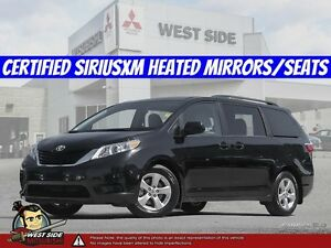 2016 Toyota Sienna LE–Satellite Radio–Heated Seats/Mirrors–3.5L