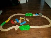Thomas and Toby brio train track