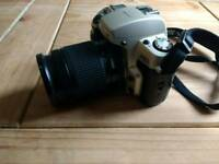Nikon F60 35mm film SLR Camera, with Nikon AF 28-80mm Lens and case