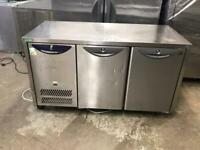 Commercial bench counter pizza fridge for shop pizza restaurant jsjaja
