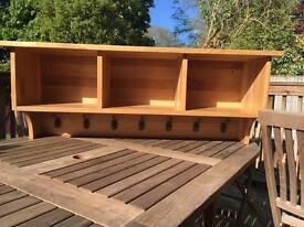 Storage Shelf and hooks
