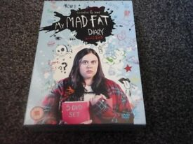 My Mad Fat Diary Dvd Series 1, 2 & 3 box set, excellent condition