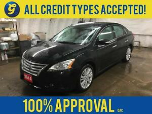 2014 Nissan Sentra SL*LEATHER*POWER SUNROOF*BACK-UP CAMERA*BLUET