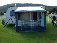 CARAVAN PORCH AWNING FOR SALE (rot-proof) acrylic roof