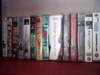 Over 200 vhs tapes..all tastes..war..humour..kids..etc etc..