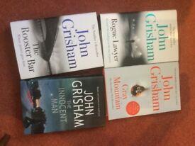 John Grisham hardback books