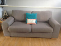 DFS 3-SEATER AMULET SOFA FOR SALE. GREY. GOOD CONDITION. PET AND SMOKE-FREE HOME. MOVING HOUSE.