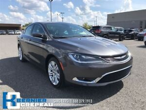 2015 Chrysler 200 Limited **ENS. CHAUFFANT, CAMERA + WOW**