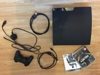 Slimline PS3 with 2 games