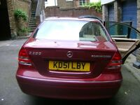 Mercedes C200 Kompressor 2001 Red - Must go ASAP